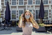 Stijlvol en milieubewust mondkapje Heerenveense startup