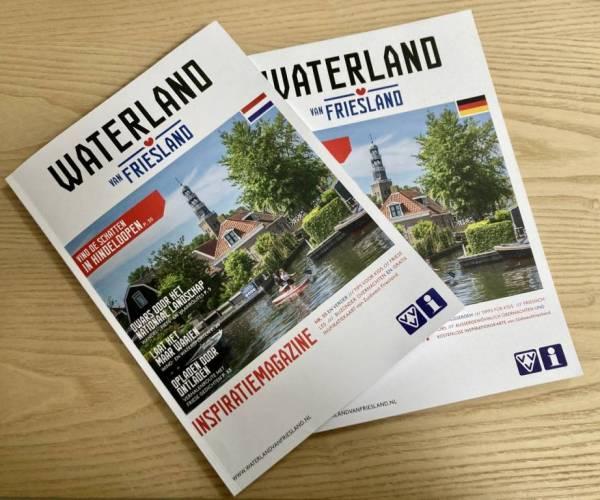 Inspiratiemagazine én drie inspiratiekranten Waterland van Friesland