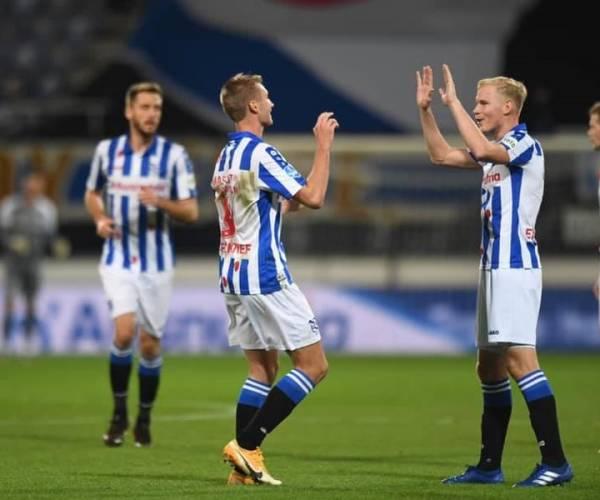 sc Heerenveen wint in stadion vol beren eenvoudig van FC Emmen