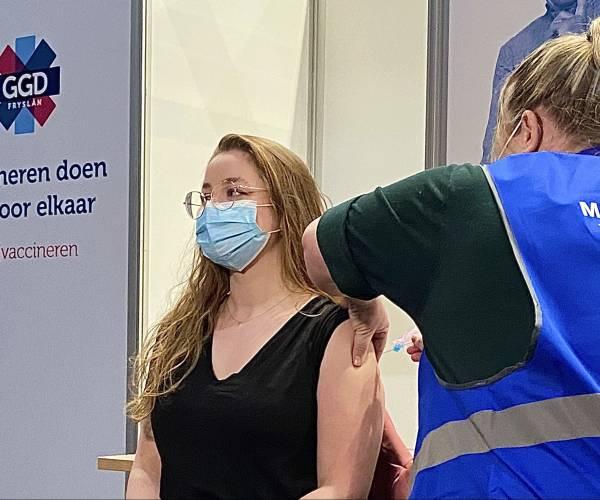 GGD Fryslân start met prikken zonder afspraak op nieuwe locaties