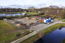 Bouw zorglocatie op oude terrein voormalige Blauwhof mavo