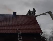 Brandweer rukt uit voor schoorsteenbrand in Oudehaske