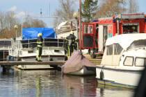 Brandje aan boord van pleziervaartuig in jachthaven Langelille