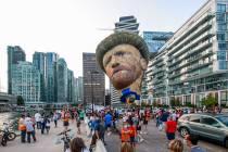 Veel belangstelling voor Jouster Van Gogh in Canada