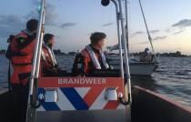 Veel watersporters in de problemen door harde wind