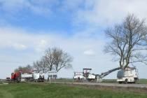 Werkzaamheden tussen Spannenburg en Woudsend: weg dicht