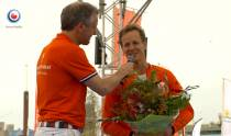 Epke Zonderland feestelijk gehuldigd na beëindigen carrière