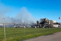 Hulp brandweer Joure na grote brand in Drachten