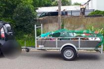 Zestien boetes bij controle aanhangwagens