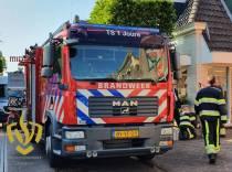 Brandweer rukt uit voor lekkende Spartamet in appartementencomplex Joure
