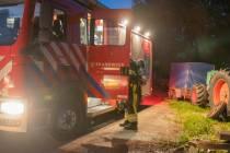 Explosie in electrische aansluiting op boot in Terherne
