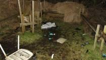 Daders gezocht, vogelringstation Rohel vernield