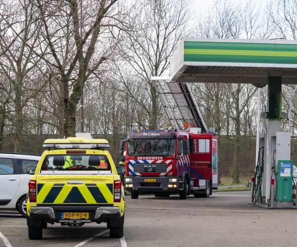 Oproep stormschade bij tankstation De Horne