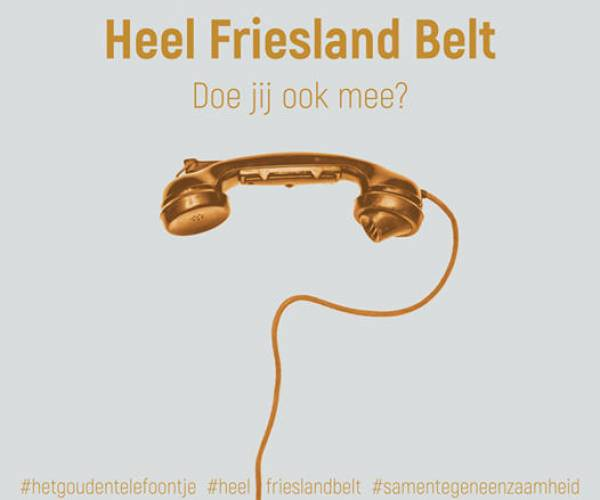Heel Friesland belt