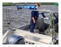 Politie controleert extra op Groote Brekken bij Lemmer