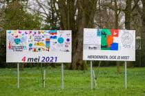 Jouster scholen maken herdenkingskunst