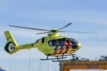 Ongeval bij IJsselmeerbeton in Lemmer