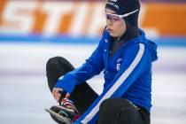 Marrit Fledderus in schaatsbubbel, debuut bij de World Cup