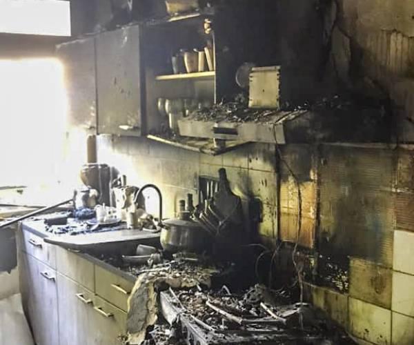 Felle keukenbrand in Joure