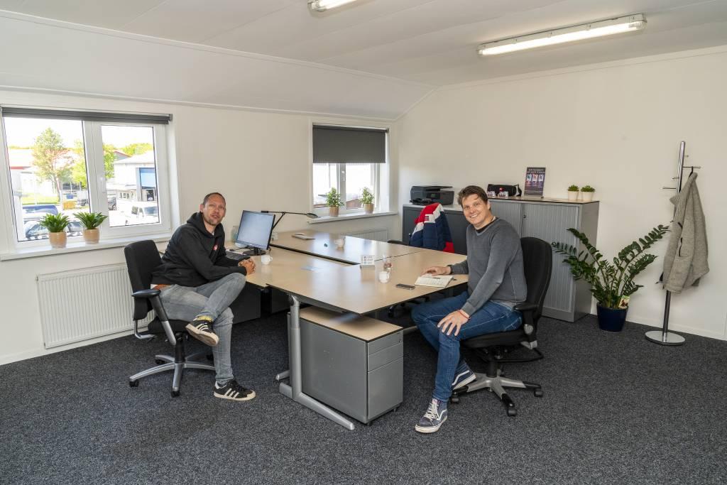 Alex Schilstra en Anton de Gier Foto Gewoan Dwaan / Douwe Bijlsma