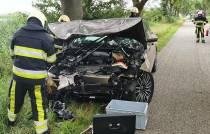 Zwaargewonde bij ongeval in Langelille