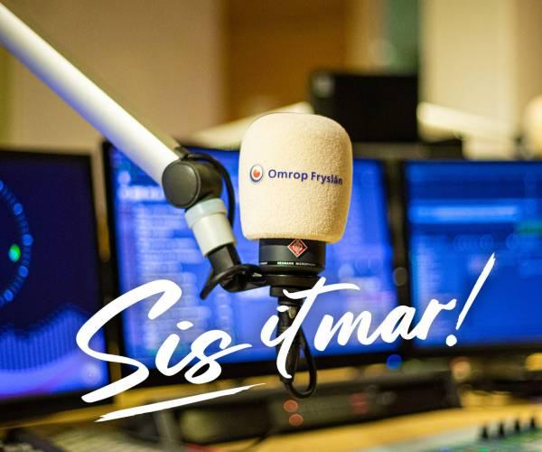 Tussen kerst en oud en nieuw dag en nacht live radio bij Omrop Fryslân met 'Sis it mar!'