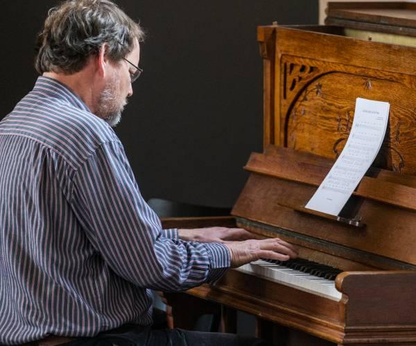 Klassiek concert in kerk Haskerhorne