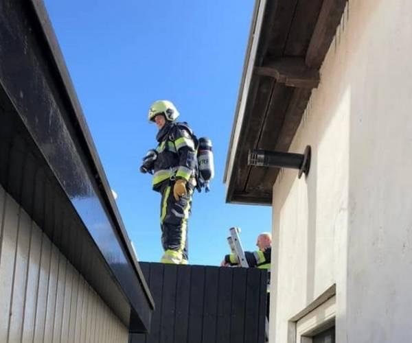 Brand in woning aan de Driessenstraat in Joure valt gelukkig mee
