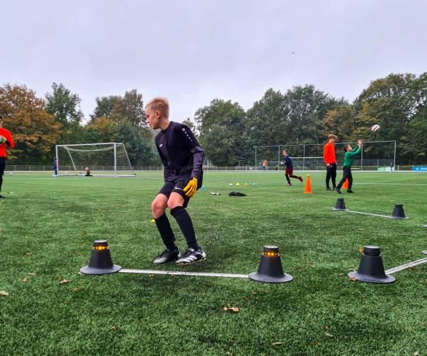Jonge keepers trainen hun vaardigheden in Joure