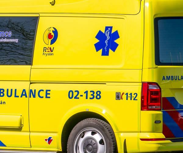 Motorrijder ernstig gewond bij Oudehaske