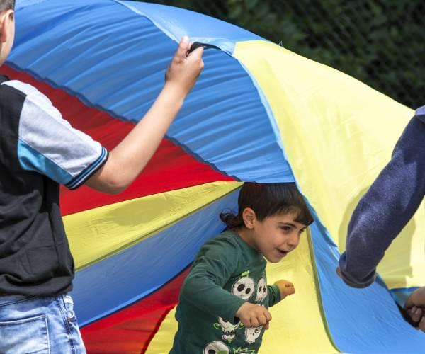 TeamUp hervat activiteiten voor gevluchte kinderen in azc Balk