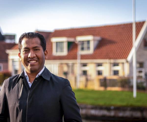 Jouster Jaap Jonkers start met verkiezingscampagne