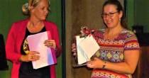 Berber Spliethoff út Snits wint ferhalewedstriid BoekfeestBoek