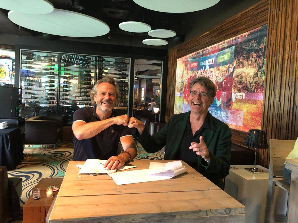 Carlo Segers en Wim van de Pol