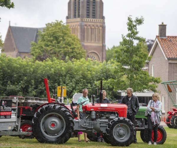 Geen Sint Nykster jaarmarkt en oldtimershow