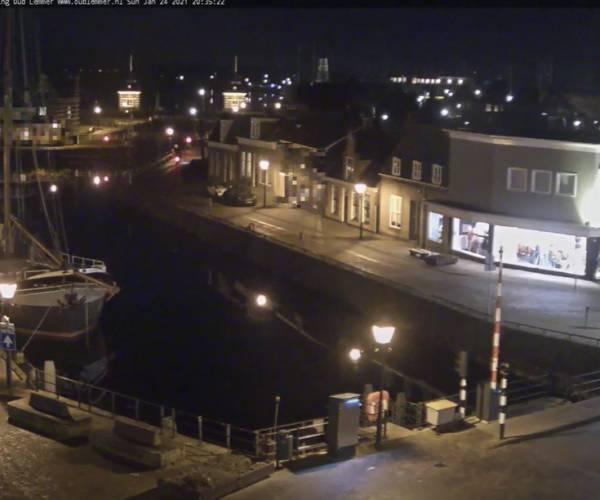 3000 bezoekers op de site webcamlemmer.nl tijdens start avondklok