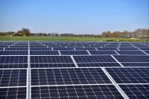 Geen zonneparken meer op landbouwgrond