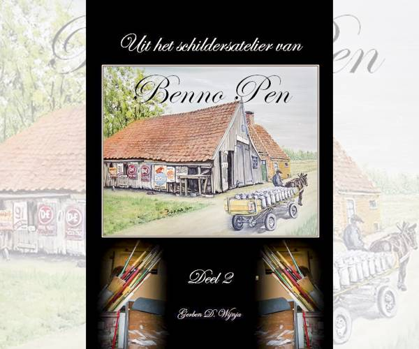 Nieuw boek van Jouster kunstschilder Benno Pen