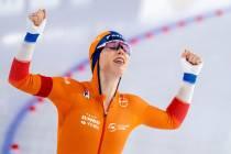 Antoinette de Jong voor de tweede keer Europees kampioen allround