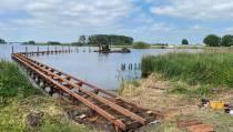 Bouwstop voor paviljoen aan Snitser Mar bij Terherne