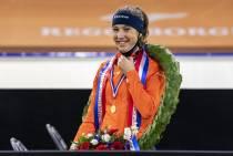 Schulting voor derde keer Nederlands allroundkampioen shorttrack, Friese mannen stellen teleur