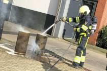 Brandweer rukt uit voor rookontwikkeling Snijtech