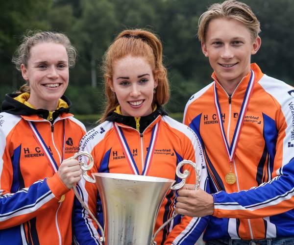 FOTO'S / Antoinette de Jong wint met HCH het NK Clubs