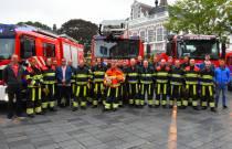 Brandweerman Eise Dijkstra na dertig jaar uitgeblust