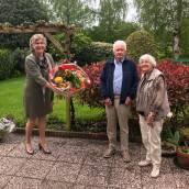 Diamanten echtpaar Van Slageren - Smitstra in de bloemen