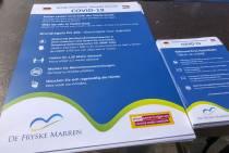 Extra coronamaatregelen drukke centra: éénrichtingsverkeer Langestreek en Oudesluis in Lemmer