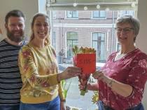 Cheque van ruim 5.000 euro voor Hotel Anne-Klare