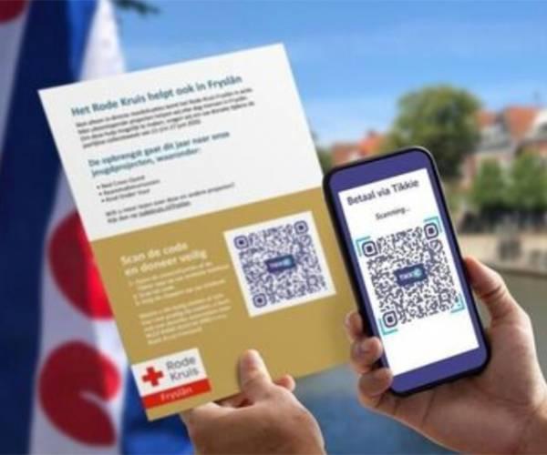 Rode Kruis collecteert digitaal voor Friese jeugd