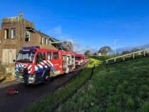 Persoon aangehouden bij brand voormalig fabriekspand in Lemmer