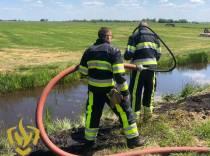 Drukke dag voor brandweer Joure
